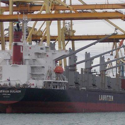 Госстивидор «Черноморск» завершает погрузку 31 тыс. тонн металлопроката на первом грузовом районе