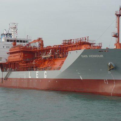 Одесский порт принял газовоз с грузом для «Укртатнафты»