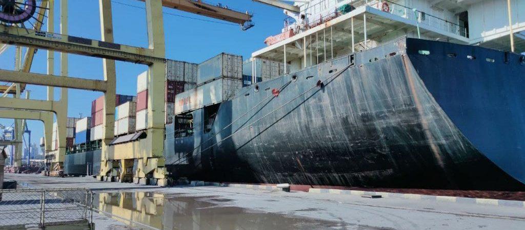 Госстивидор «Черноморск» впервые за год обработал контейнеровоз