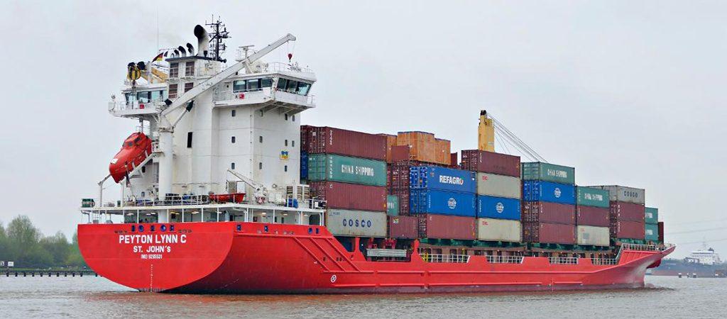 Европу и район Великих озер связал первый регулярный контейнерный сервис