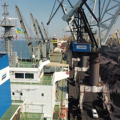 Госстивидор «Южный» обработал более 10 млн тонн грузов в январе-августе