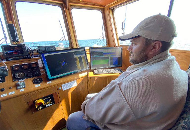 Госгидрография обследовала акваторию в районе острова Дамбовый в порту Черноморск