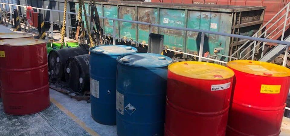 Таможня обнаружила 2 тонны незадекларированных ГСМ на судне в Николаевском порту