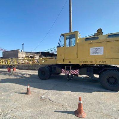 Госстивидор «Южный» отремонтировал кран строительного подразделения