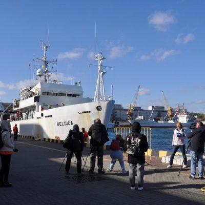Полученное от Бельгии научное судно Belgica прибыло в порт приписки Одесса