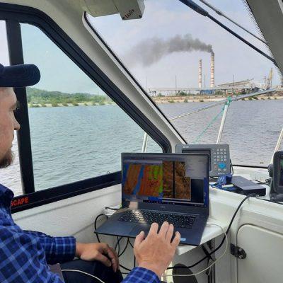 «Госгидрография» обследовала Каневское водохранилище и акваторию порта «Пивденный»