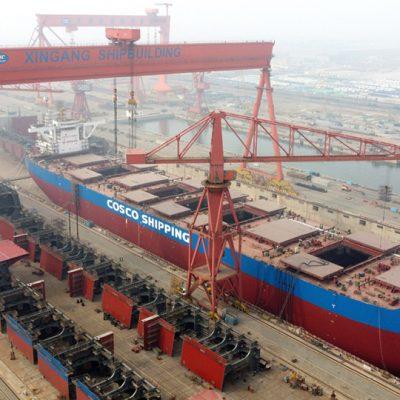 Китайская верфь Tianjin Xingang во второй раз за свою историю закроется из-за долгов