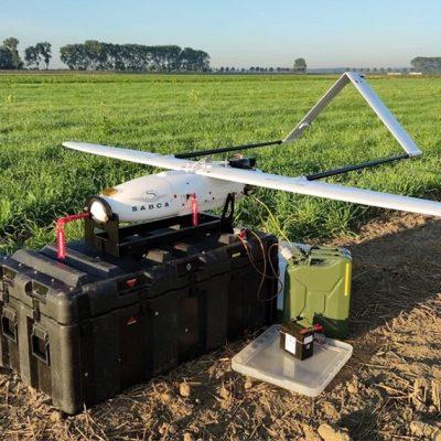 Порт Антверпен испытал дрон безопасности с фиксированным крылом
