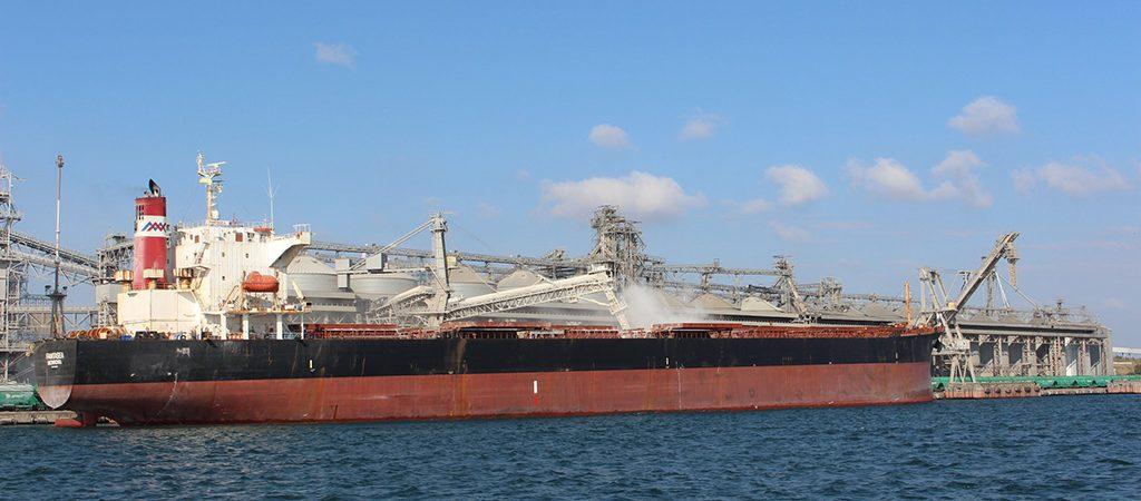 «Трансбалктерминал» обеспечил почти треть грузооборота порта Черноморск в сентябре