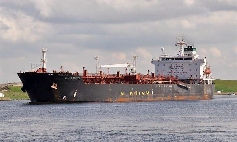 Николаевский порт принял танкер с итальянским дизтопливом