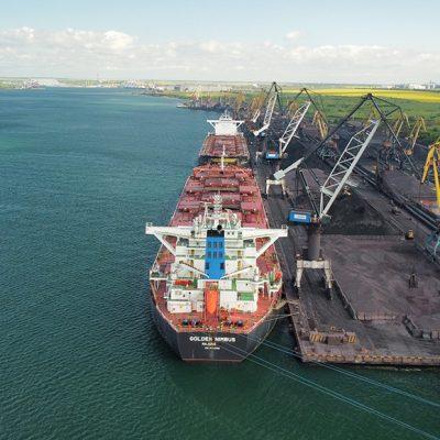 Госстивидор «Южный» увеличил перегрузку руды на 13% в третьем квартале